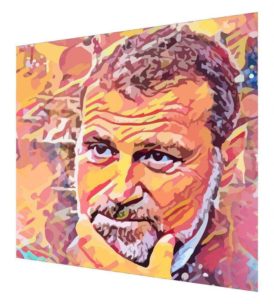Massimo Osanna - ritratto digitale Streamcolors