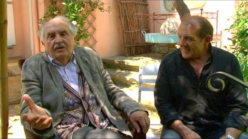 Tonino Guerra e Nicola Longo