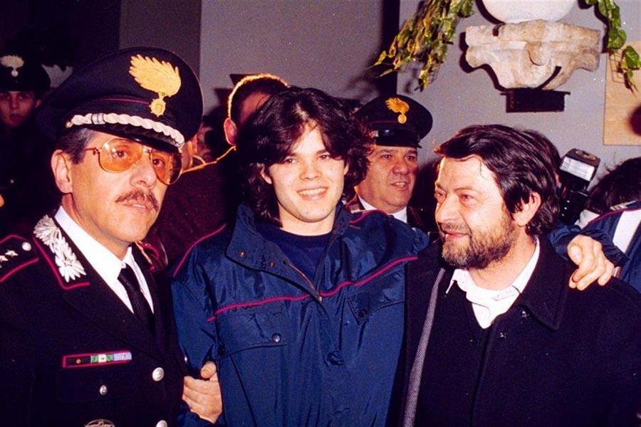 Cesare Casella, il giorno della liberazione