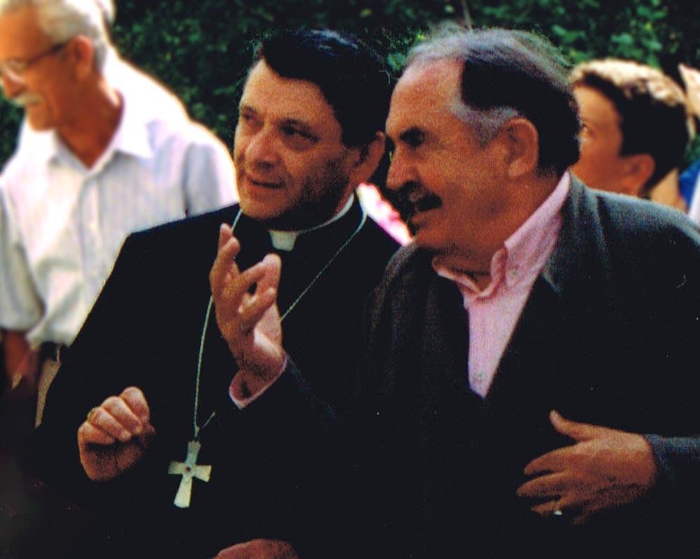 Tonino Guerra 100: <br />stop agli eventi <br />ma non ai ricordi: <br />19) il vescovo rievoca <br />il giorno in cui Tonino <br />pose le sue radici <br />in un popolo d'onore