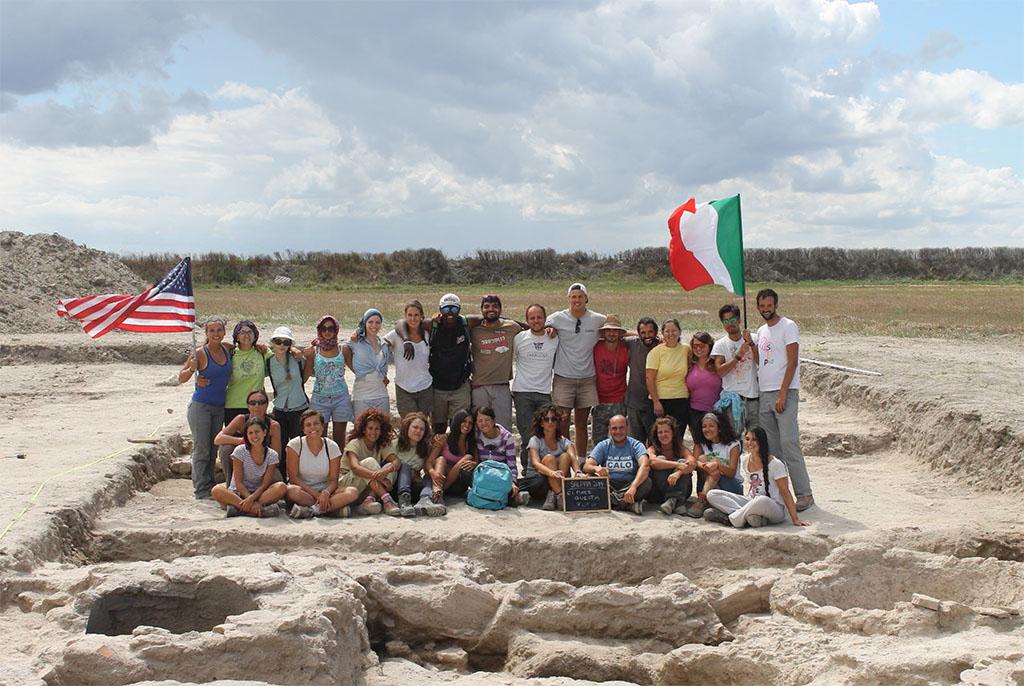 I protagonisti della campagna di scavi nel territorio dell'antica Salapia