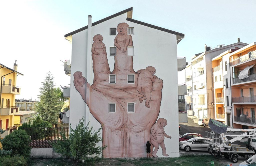 Stigliano Street art 'appARTEngo' - Nemos, '3_2_nessuno'