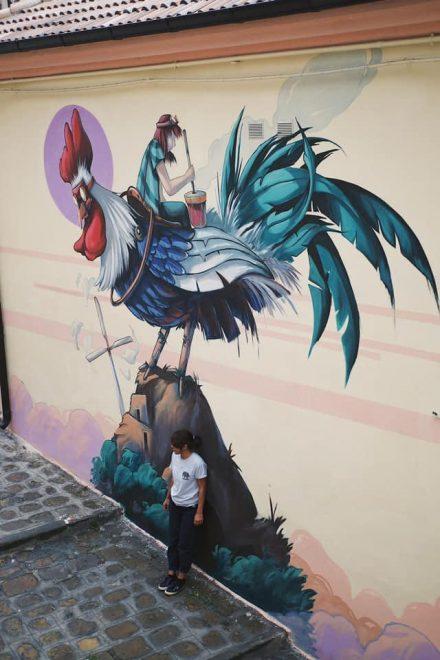 Stigliano Street art 'appARTEngo' - Alessandra Carloni, 'Il Canto della Terra', 2020