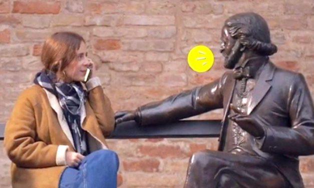 Caro Salvatore, ora facciamo parlare le statue dei Grandi italiani: come abbiamo fatto noi a Parma, in un itinerario accessibile a tutti