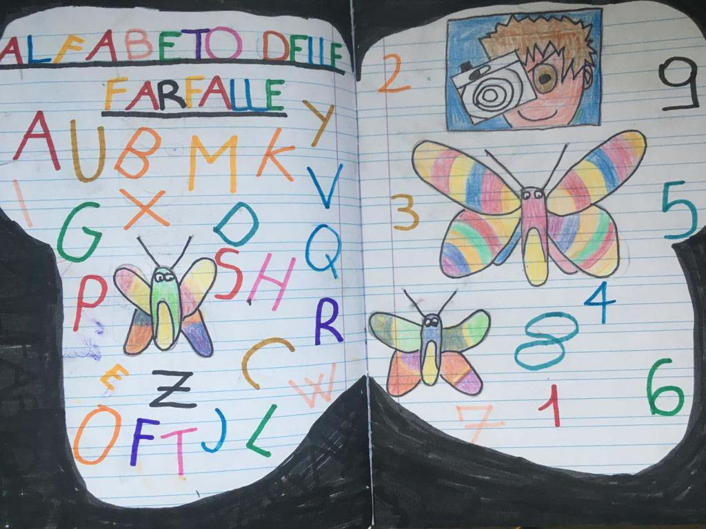 Giulio Giannella - alfabeto delle farfalle