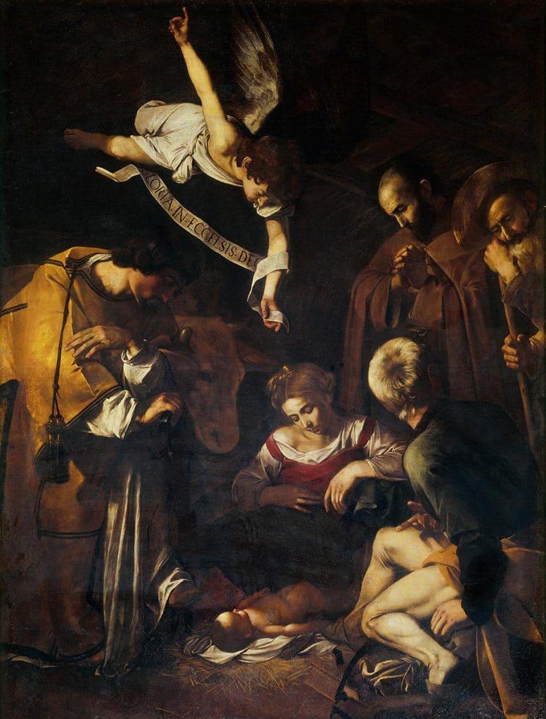 Caravaggio - Natività (1600)