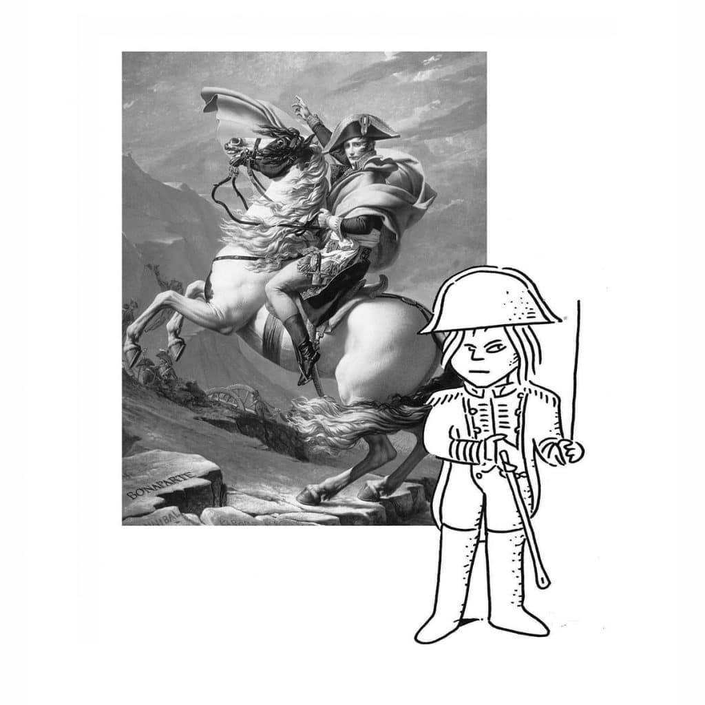 Luca Novelli - ritratto Napoleone