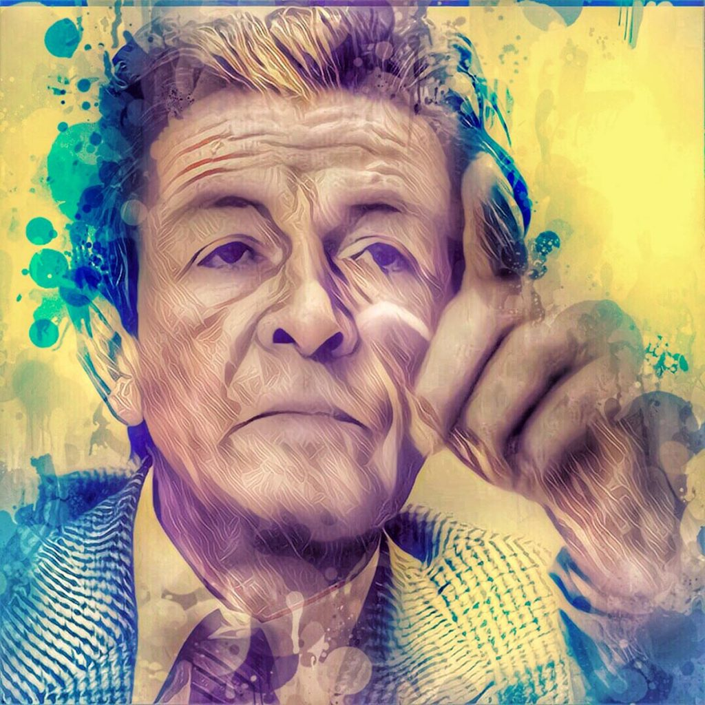 Enrico Berlinguer - ritratto digitale Streamcolors