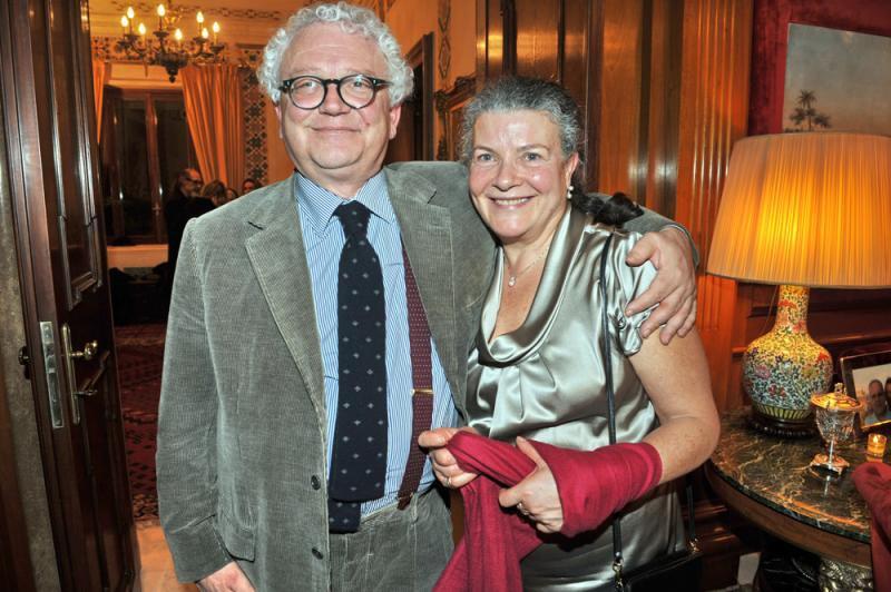 Lauretta Colonnelli e Giorgio Dell'Arti