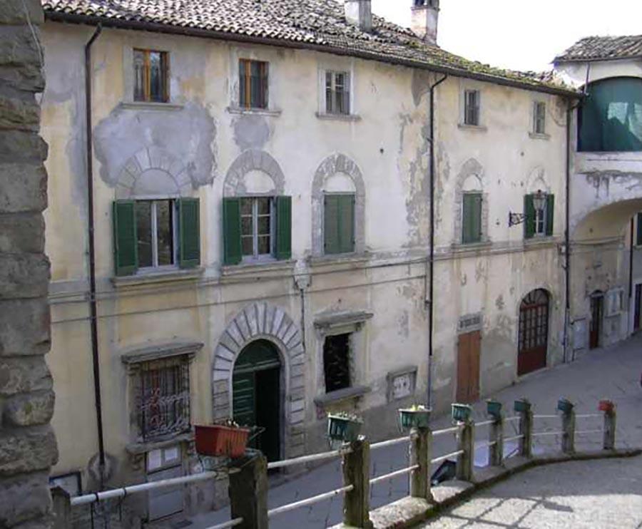 Palazzo Portinari, Portico di Romagna