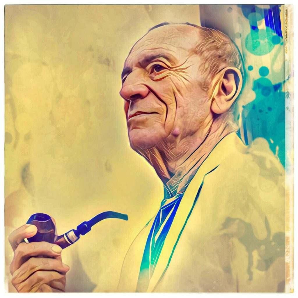 Raoul Casadei - ritratto digitale Streamcolors