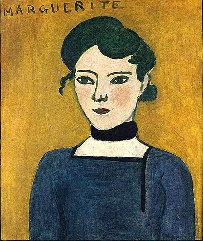 Ritratto di Marguerite - Matisse