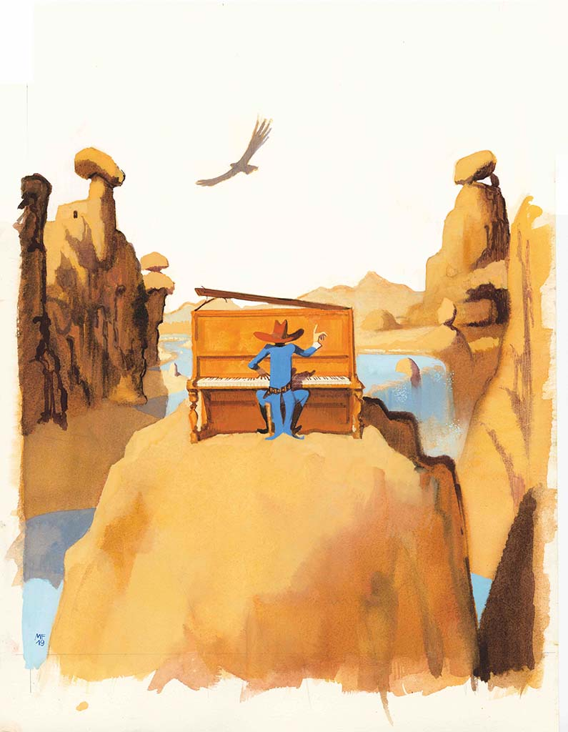 Favole di Gianni Rodari, illustrazione di Manuele Fior