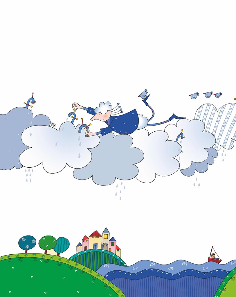 Favole di Gianni Rodari, illustrazione di Nicoletta Costa