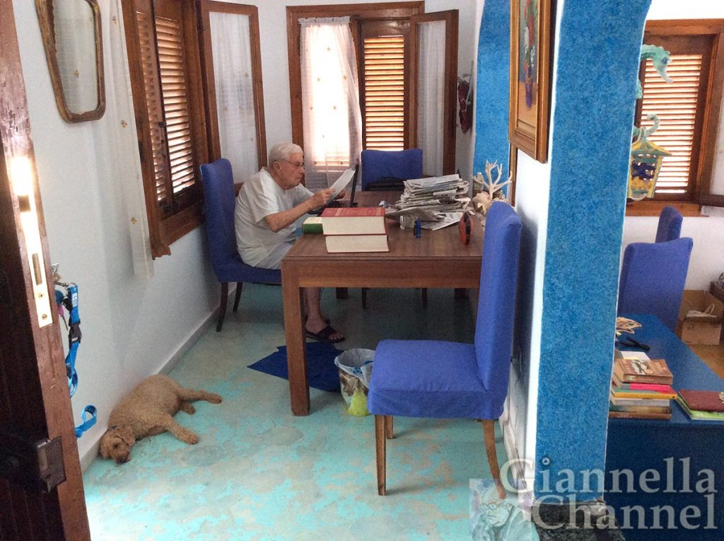 Mario Cervi a Volos scrive la rubrica