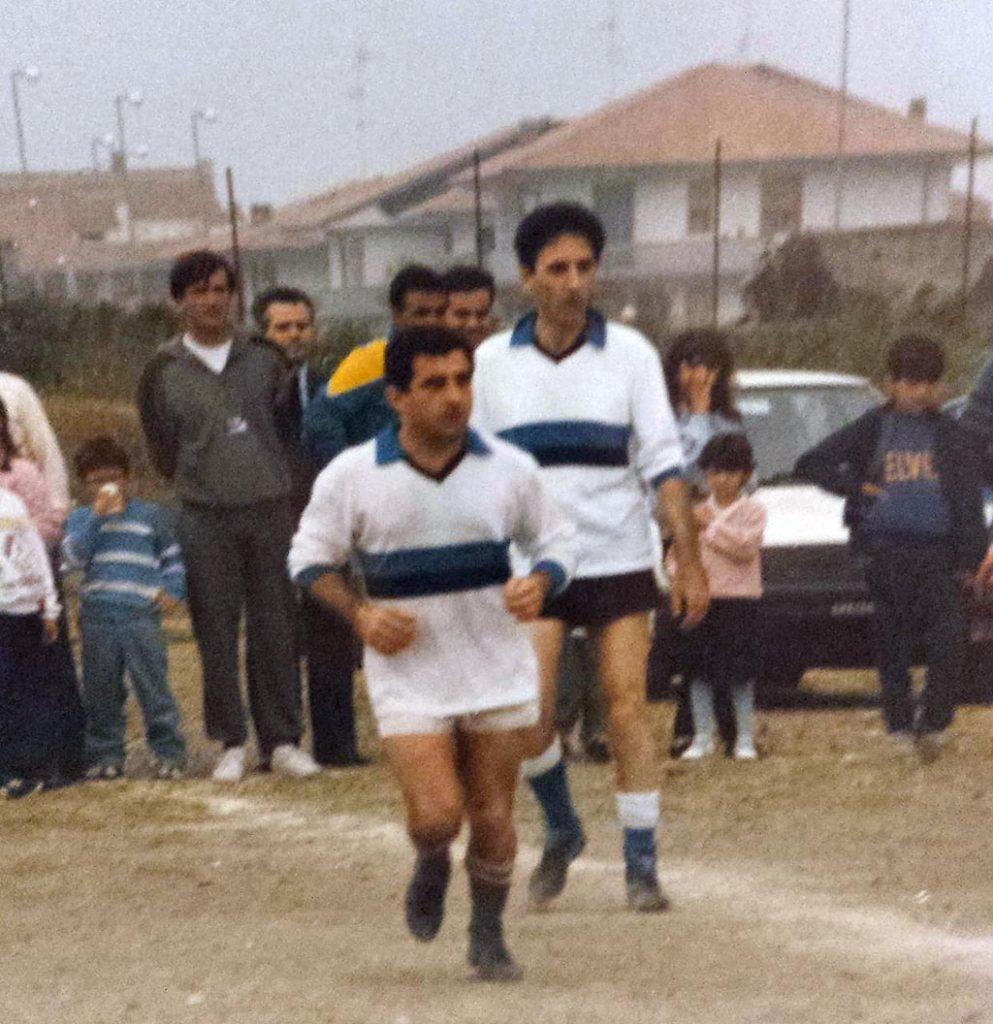 Franco Battiato giovane - squadra calcio Riposto