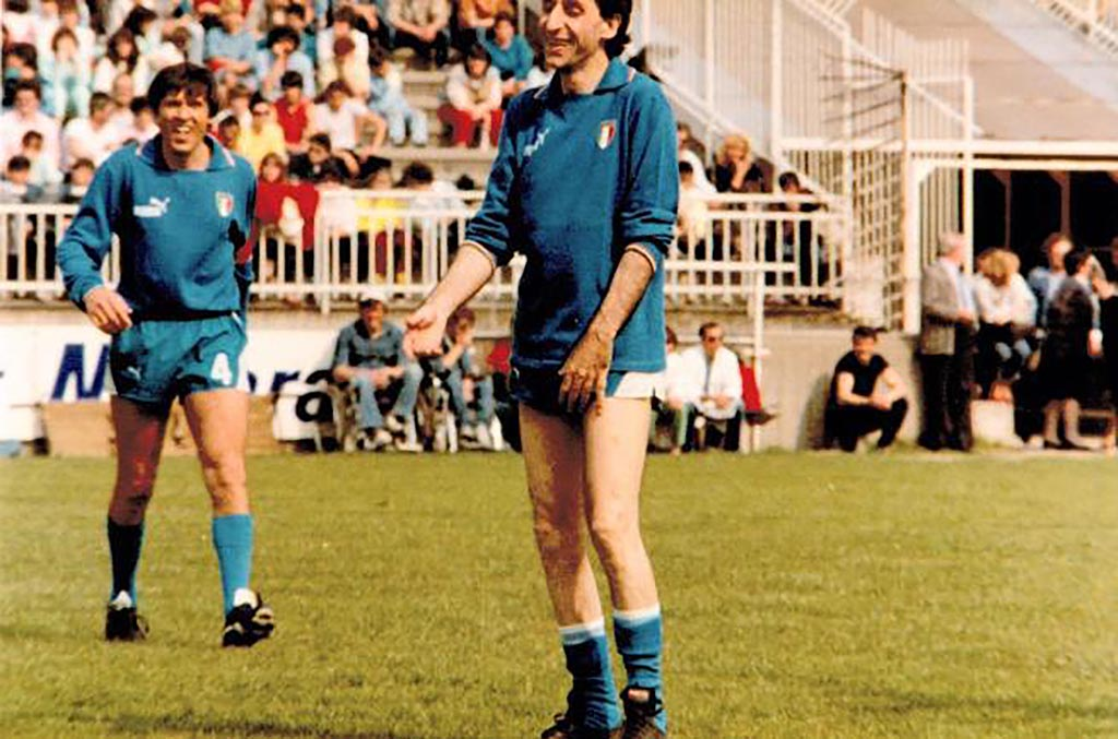 Franco Battiato - nazionale cantanti calcio
