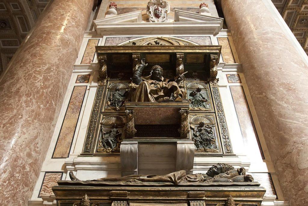 Basilica di San Pietro in Vaticano: la tomba di Papa Innocenzo VIII