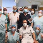 Gianni Morandi nelle mani del dottor Davide Melandri. Quando la meglio Emilia incontra la meglio Romagna