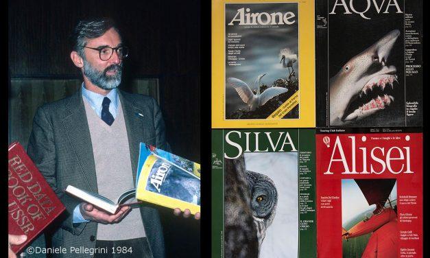"""In volo con Egidio Gavazzi, fondatore di """"Airone"""". Il ricordo del fotoreporter Daniele Pellegrini"""